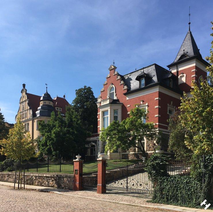 Prächtige Villen in der Lindenstraße unter Denkmalschutz