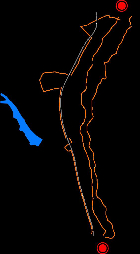5 Trails between Crimmitschau and Werdau